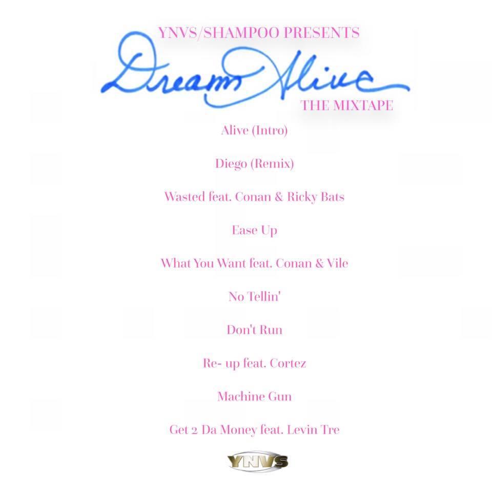 Dream Alive Rear Cover